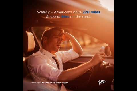 AAA - Weekly, American Drive 200 Miles & Spend 6hrs on the Road