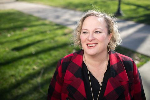 Sarah Dugger plans to use her doctorate to teach at the college level.