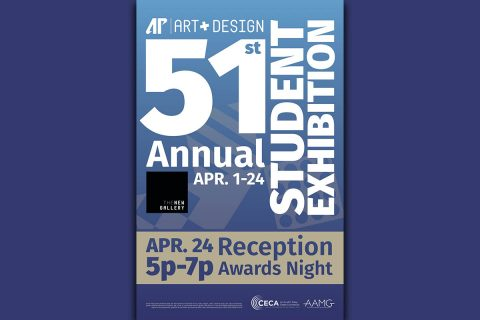 APSU Art + Design's 51st Juried Student Art Exhibition