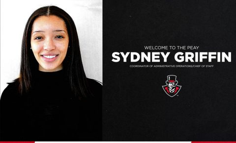 APSU Athletics Coordinator of Administrative Operations/Chief of Staff Sydney Griffin