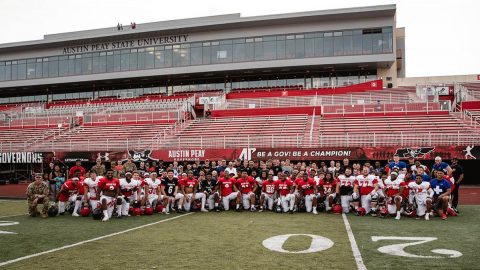 Austin Peay Football finished Spring Practice this week. (APSU Sports Information)