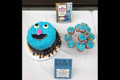 APSU's Woodward Library held their first Edible Book Contest April 10th.