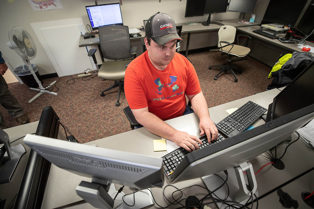 Bryndon Rhoton, a computer information systems junior at Austin Peay State University, designed the road closure map on the City of Clarksville's website.