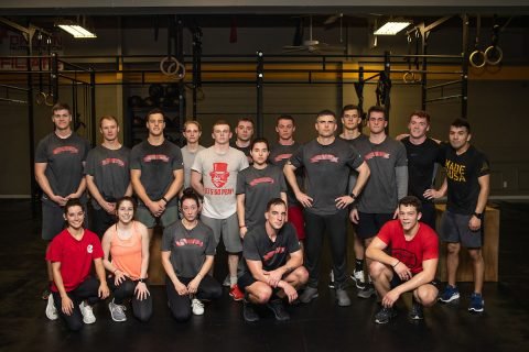 Members of the APSU ROTC Ranger Challenge team. (Benny Little, APSU)