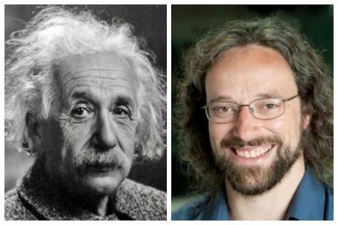 Albert Einstein and Dr. Matthew Stanley