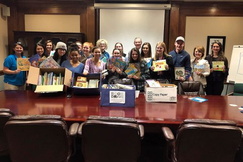 The Clarksville Mayor's Youth Council conducted a book drive as a service project, collecting a total of 1,012 books to donate to several Clarksville-Montgomery County elementary schools. Youth Council members began book drives at their high schools in September, then brought the collected books to  Clarksville Parks & Recreation to be distributed to schools.
