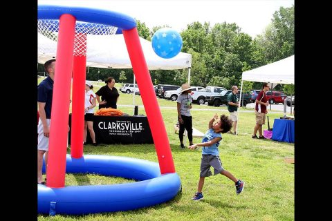 Clarksville Parks and Recreation offers BCycle rides, giveaways, and games.