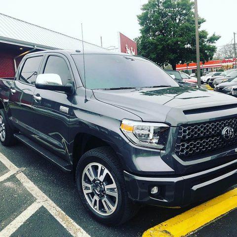 Stolen Silver Toyota Tundra