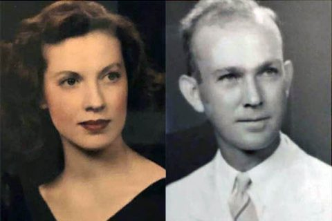 Dr. Camille Holt's parents Jo and Isaac Buck.