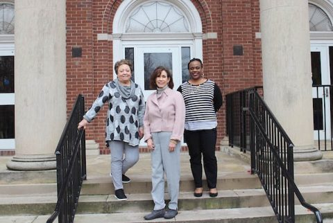 Austin Peay State University Nursing Faculty members Dr. Doris Davenport, Dr. Patty Orr and Dr. Shondell Hickson. (APSU)