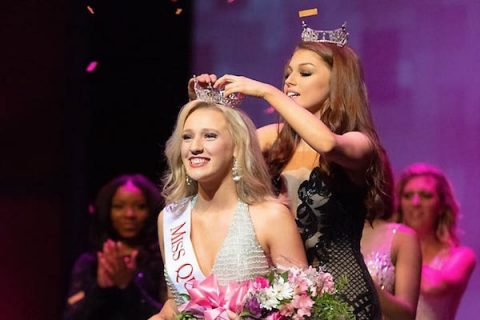 Miss Austin Peay pageant. (APSU)