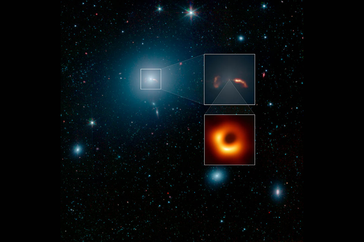 NASA reports Event Horizon Telescope captures first image ...