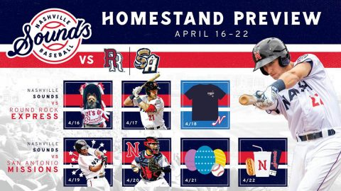 Peanut Free Night and Copa de la Diversión Weekend Highlight Nashville Sounds Homestand. (Nashville Sounds)