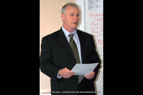 Clarksville Gas and Water General Manager Pat Hickey regins after 12 years in the position.