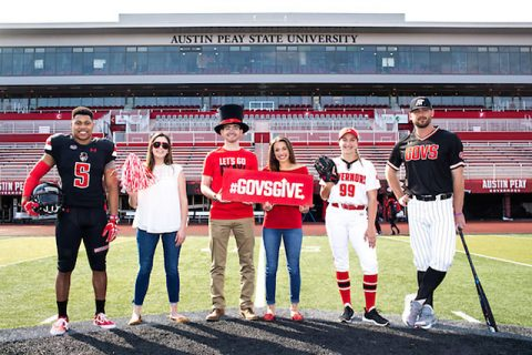 APSU's Govs Give online giving Event began Monday.
