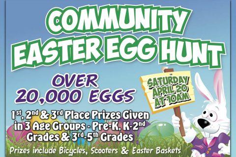 Yellow Creek Baptist Church 2019 Community Easter Egg Hunt