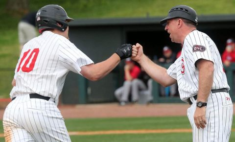 Austin Peay Baseball plays Atlantic Sun conference Jacksonville this weekend at Raymond C. Hand Park. (Robert Smith, APSU Sports Information)