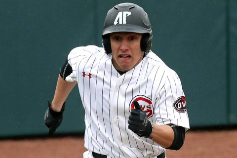 Austin Peay Baseball shortstop Garrett Kueber fuels Governors comeback with five hits and five RBIs against Western Kentucky Tuesday night. (APSU Sports Information)