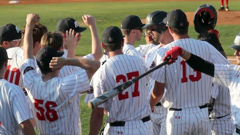 Austin Peay Baseball loses 14-5 to Jacksonville State Friday night at Raymond C. Hand Park. The Governors will be the #2 seed in the OVC Baseball Tournament. (APSU Sports Information)