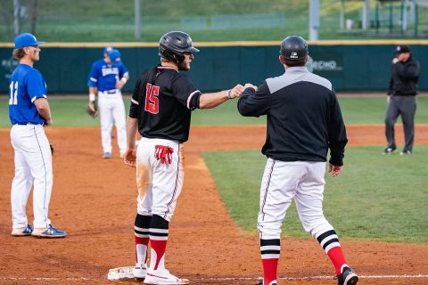 Austin Peay Baseball opens OVC Tournament play with 12-2 win over UT Martin. (APSU Sports Information)