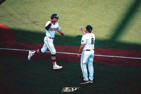 #2 Austin Peay Baseball will face #1 Jacksonville State in the OVC Tournament Winner's Bracket Friday morning. (Tre Lawless)