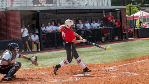 Austin Peay Softball freshman Lexi Osowski went 2 for 3 at the plate with 1 RBI in loss to Eastern Kentucky, Saturday. (APSU Sports Information)