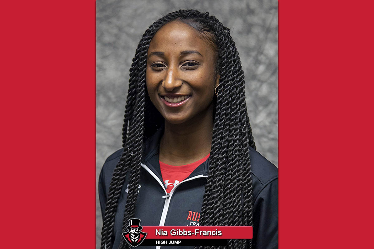 2019 APSU Track and Field - Nia Gibbs-Francis