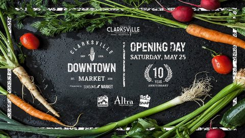2019 Clarksville Downtown Market opens May 25th