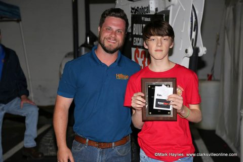 Dylan Byard came in 1st in the pork chop category in the 2nd annual Country Kids Cook-Off at Hilltop Supermarket.