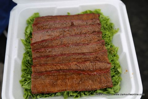 One of the beef brisket entries.