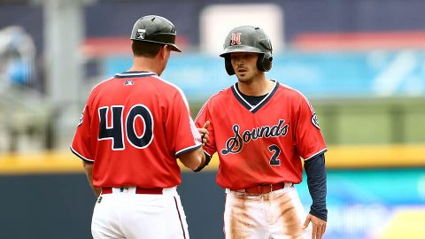 Nashville Sounds set a Season-High with 13 Runs Scored Wednesday night against the Oklahoma City Dodgers. (Nashville Sounds)