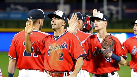 Nashville Sounds finish 12-Game Road Trip with Come-From-Behind Win against Round Rock Express. (Nashville Sounds)