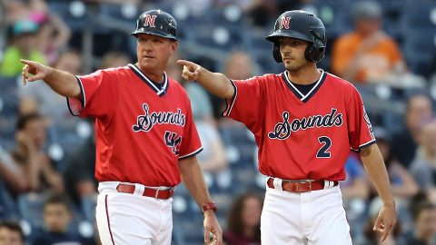 Nashville Sounds evens the Series with Round Rock Express at 2-2 to Force Deciding Game Tomorrow Night. (Nashville Sounds)