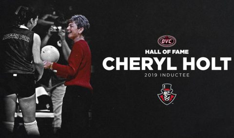 Austin Peay's Cheryl Holt to be inducted into 2019 OVC Hall of Fame. (APSU Sports Information)