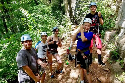 APSU Govs Outdoors Teen Camp is open to ages 12-15 and focuses on getting teens outdoors and into activities such as hiking, biking, rock climbing and caving, all offered in the Clarksville area.