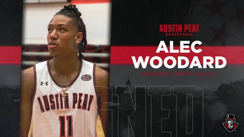 Alex Woodard to join Austin Peay State University Men's Basketball in 2019-20. (APSU Sports Information)