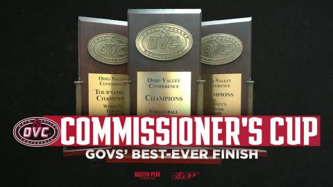 Austin Peay Athletics post best ever finish in OVC Commissioner's Cup. (APSU Sports Information)