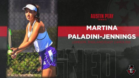 Martina Paladini-Jennings to join Austin Peay Women's Tennis for fall Season. (APSU Sports Information)