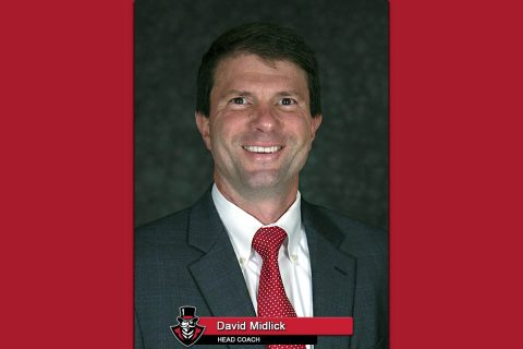APSU Women's Basketball head coach David Midlick