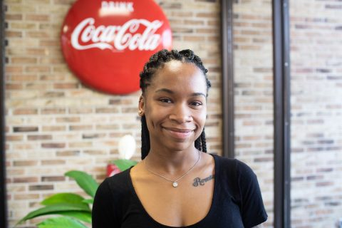 Austin Peay graduate Ebony Walton recently won an American Advertising Award, or ADDY, and three Southern Student Graphic Design Show awards. (APSU)