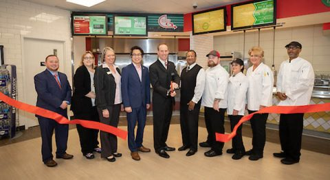 Austin Peay State University Dining Services officially rebranded two new restaurants on campus Monday morning.
