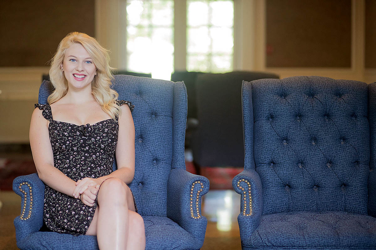 Austin Peay State University student Sara Alexander