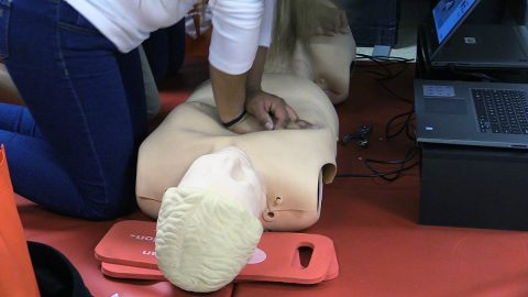 Compression-only and standard CPR – with chest compressions and rescue breaths – were associated with doubled survival rates compared with no CPR. (American Heart Association)
