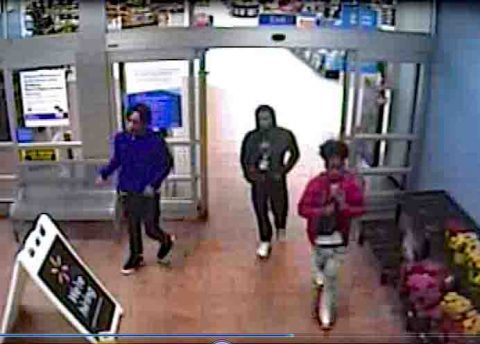 Clarksville Police seek to Identify Vehicle Burglary Suspects who tried to use a stolen credit card.