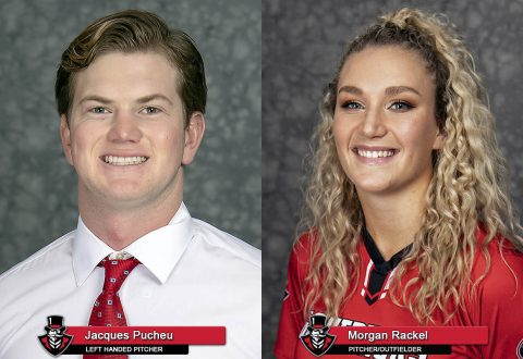 2018-19 APSU - Jacques Pucheu amd Morgan Rackel