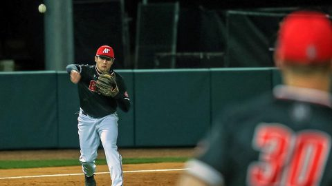 Nine Austin Peay Baseball players are in leagues this summer gaining experience on the field. (Robert Smith, APSU Sports Information)