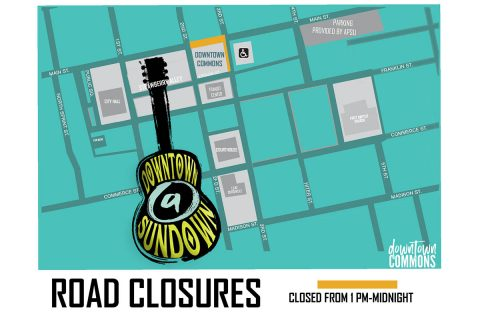 2019 Downtown at Sundown - Road Closures