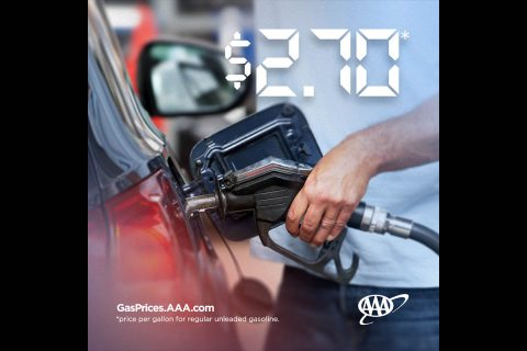 AAA Forecasts Summer National Gas Price Average to Drop to $2.70. (AAA)