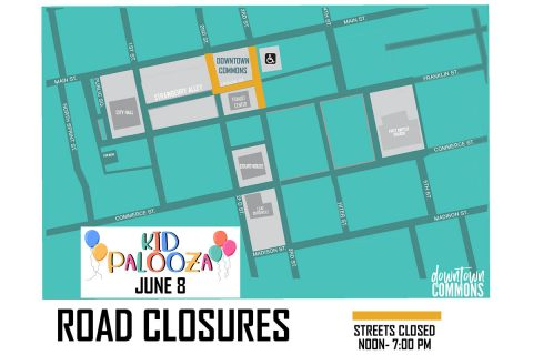 2019 - Kid Palooza - Road Closures