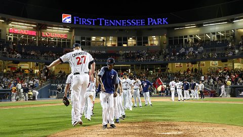 Nashville Sounds Net Second Straight Series Win. (Nashville Sounds)